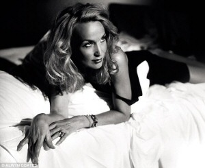Jerry Hall in The Graduate - photo by Alwyn Coates